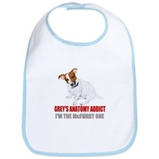 Grey's Anatomy Addict Bib
