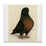 Kite Tumbler Pigeon Tile Coaster