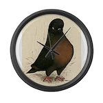 Kite Tumbler Pigeon Large Wall Clock