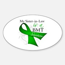 Sister-in-Law BMT Survivor Decal