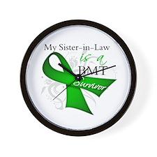 Sister-in-Law BMT Survivor Wall Clock