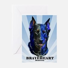 Braveheart dark #1 Greeting Cards (Pk of 20)