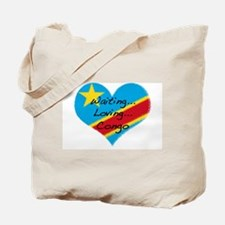 Waiting, Loving, Congo Tote Bag