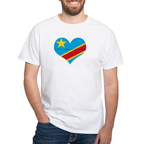 Kinshasa Coordinates T-Shirt