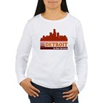 Detroit Is For Lovers Women's Long Sleeve T-Shirt