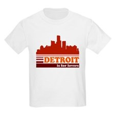 Detroit Is For Lovers T-Shirt
