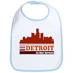 Detroit Is For Lovers Bib
