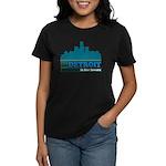 Detroit Is For Lovers Women's Dark T-Shirt