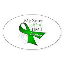 Sister BMT Survivor Decal