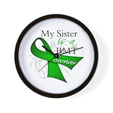 Sister BMT Survivor Wall Clock