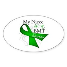 Niece BMT Survivor Decal