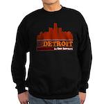 Detroit Is For Lovers Sweatshirt (dark)