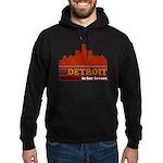 Detroit Is For Lovers Hoodie (dark)