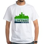 Detroit Is For Lovers White T-Shirt