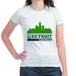 Detroit Is For Lovers Jr. Ringer T-Shirt