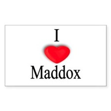 Maddox Rectangle Decal