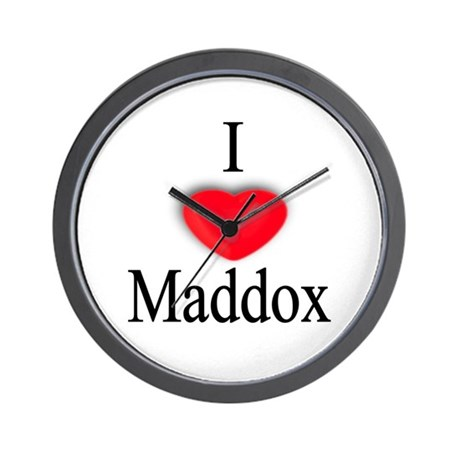 Maddox Wall Clock
