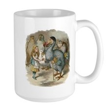 Alice and the Dodo Ceramic Mugs