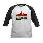 Detroit Is For Lovers Kids Baseball Jersey