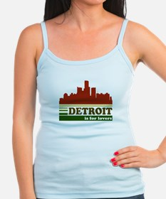 Detroit Is For Lovers Jr.Spaghetti Strap