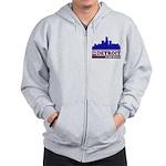 Detroit Is For Lovers Zip Hoodie
