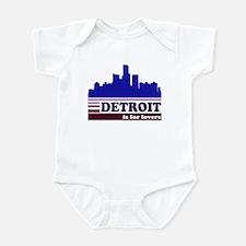 Detroit Is For Lovers Infant Bodysuit