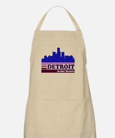 Detroit Is For Lovers Apron