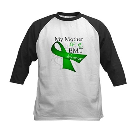 Mother BMT Survivor Kids Baseball Jersey