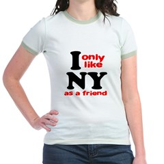 I Only Like New York As A Fri T