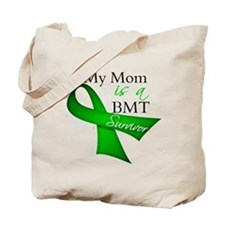 Mom BMT Survivor Tote Bag