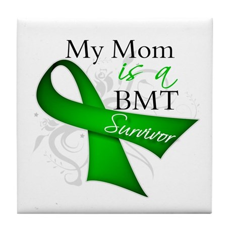 Mom BMT Survivor Tile Coaster