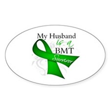 Husband BMT Survivor Decal