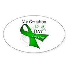 Grandson BMT Survivor Decal