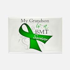 Grandson BMT Survivor Rectangle Magnet