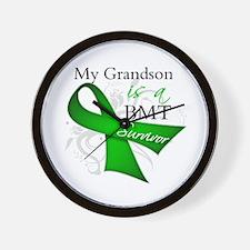 Grandson BMT Survivor Wall Clock