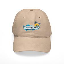 Edisto Island SC - Surf Design Baseball Cap