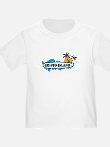 Edisto Island SC - Surf Design T