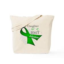 Daughter BMT Survivor Tote Bag