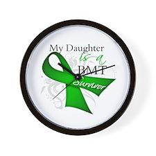 Daughter BMT Survivor Wall Clock