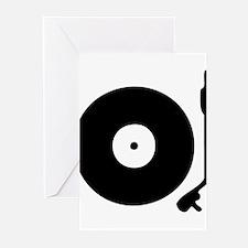 Vinyl Turntable 1 Greeting Cards (Pk of 10)