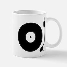 Vinyl Turntable 1 Small Mugs