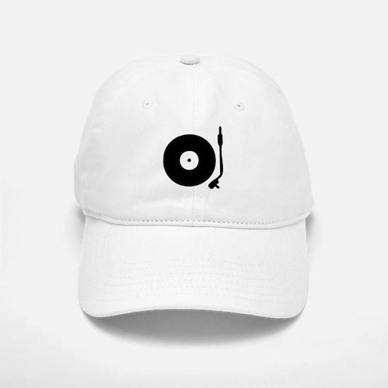 Vinyl Turntable 1 Baseball Baseball Cap