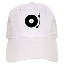 Vinyl Turntable 1 Baseball Cap
