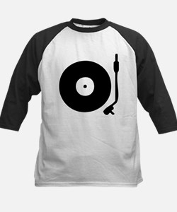 Vinyl Turntable 1 Kids Baseball Jersey