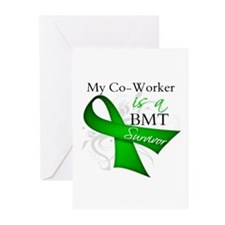 Coworker BMT Survivor Greeting Cards (Pk of 10)