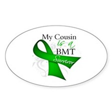Cousin BMT Survivor Decal