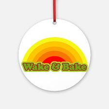 Wake & Bake Ornament (Round)