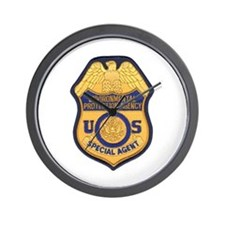 EPA Special Agent Wall Clock