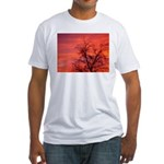 FireSky2 Fitted T-Shirt