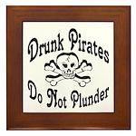 Pirates Framed Tile